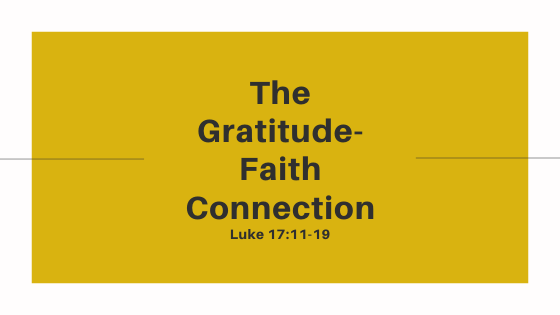 The Gratitude-Faith Connection